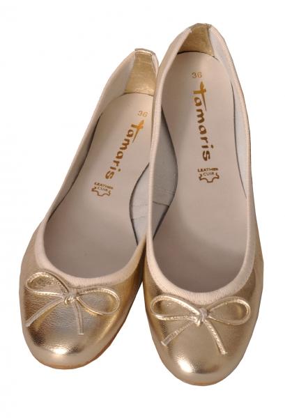 Trachten Ballerina Hainsfarth light gold Tamaris