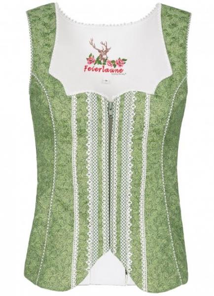 Trachtenmieder Gwendolin grün oliv Spieth & Wensky