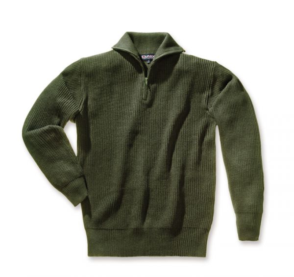 Troyer-Pullover Trachten Jagd Forst grün oliv