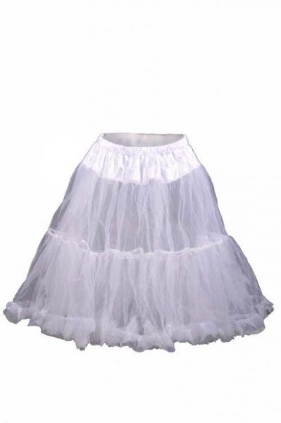 Petticoat 65 cm weiß Marjo