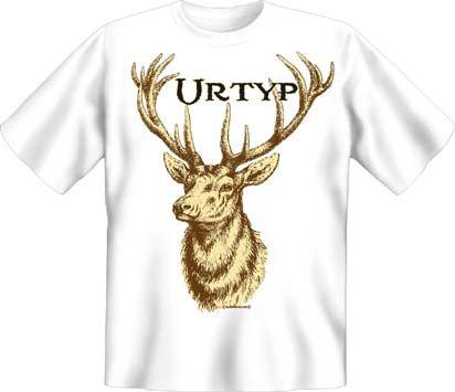 Trachtenshirt Urtyp weiss T-Shirt
