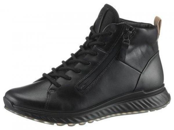 Stiefel Halbschuhe Schnürschuhe Gerzen schwarz Ecco