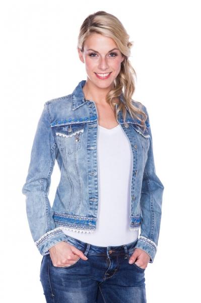Trachtenjacke Denim Dream Jeans blau blau Krüger