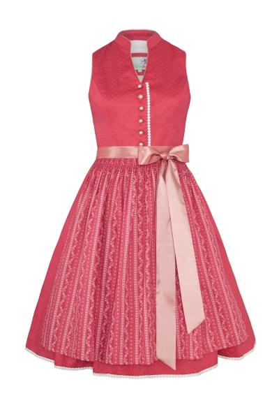 Dirndl midi 60 cm Jella pink Alpenfee