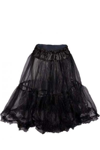 Petticoat 65cm schwarz Marjo
