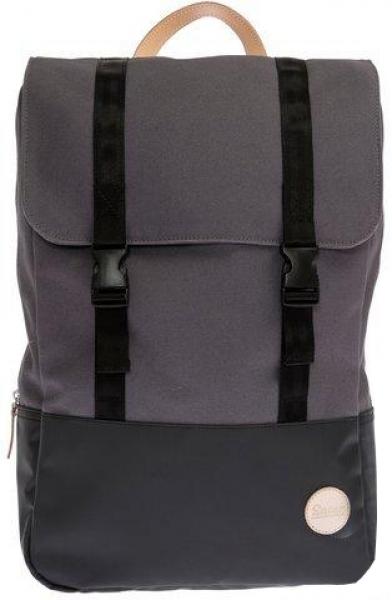 Rucksack grau schwarz Research Backpack Enter