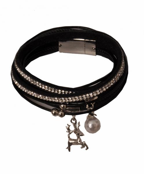 Trachten Armband Nittenau schwarz