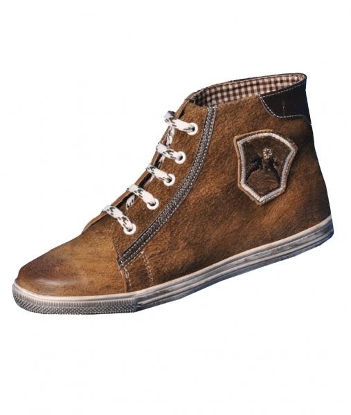 Trachten Sneaker Victoria wood braun Nappato Maddox