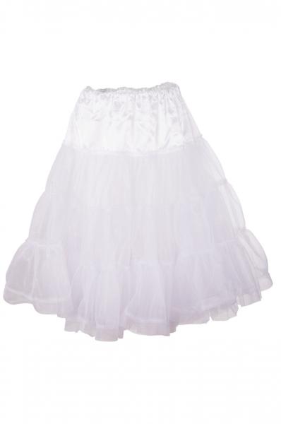 Petticoat 50 cm Hohenkammer weiß