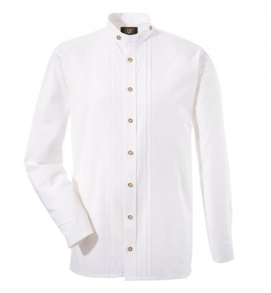 Trachtenhemd Buckenhof weiß lang OS Trachten