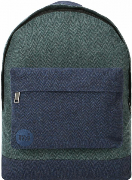 Rucksack grün blau Mi-Pac Herringbone MIx
