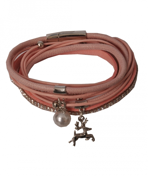 Trachten Armband Nittenau rosa
