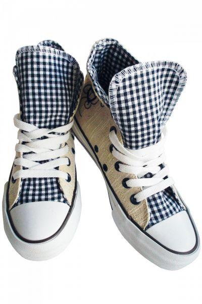 Sneaker Blue Heart beige/blau Krüger Madl